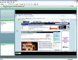 Adobe crea una conexión Web