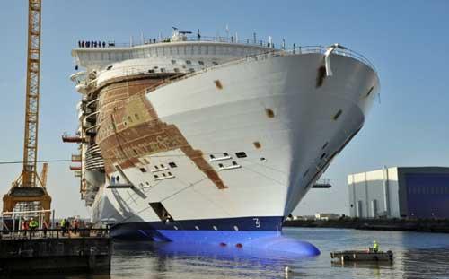El Harmony of the Seas que construye STX Francia para Royal Caribbean
