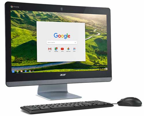 Acer lanza el primer Chromebase all-in-one con Intel Core y pantalla de 24 pulgadas