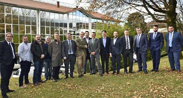 Participantes en la asamblea anual de ASOTEM celebrada en Bilbao