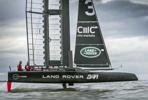 EMC estará con el Land Rover BAR para ganar la Copa América