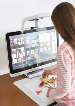HP Sprout redefine la forma de interactuar con la tecnología