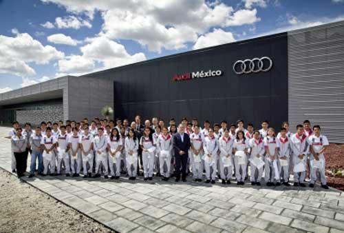 Nueva factoria de Audi en México