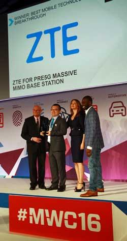 La industria ha reconocido el esfuerzo innovador de ZTE en 5G