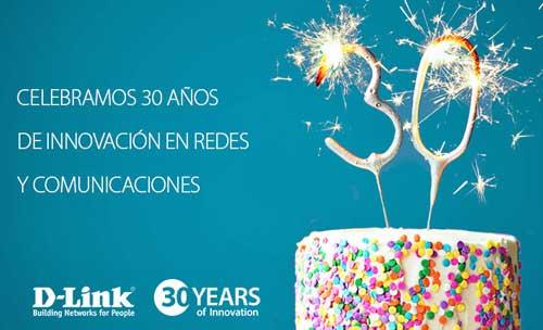 D-Link celebra 30 años de crecimiento e innovación en redes y comunicaciones IP