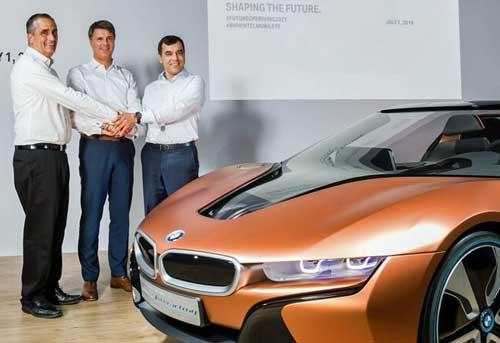 BMW, Intel y Mobileye se unen para lograr la conducción autónoma plena en 2021 basada en una plataforma abierta y segura