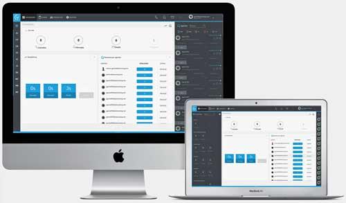 VirtualCenter integra todos los canales de contacto disponibles actualmente, como son los de correo electrónico, chat, voz y sociales