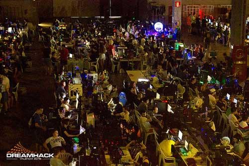 Auren diseña la red de la DreamHack Valencia