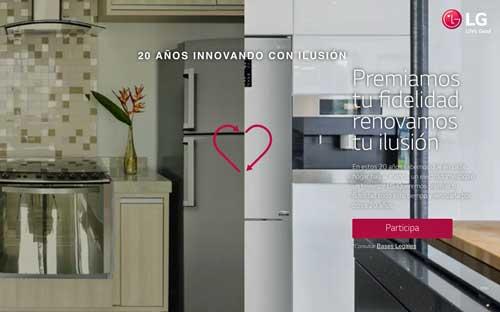 LG quiere premiar la fidelidad de sus usuarios a lo largo de estas dos décadas de andadura en España