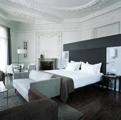 Suite del Hotel AC Palacio del Retiro, en Madrid