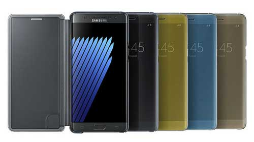 Samsung Galaxy Note7: seguridad, resistencia al agua, productividad y entretenimiento en el smartphone que piensa a lo grande