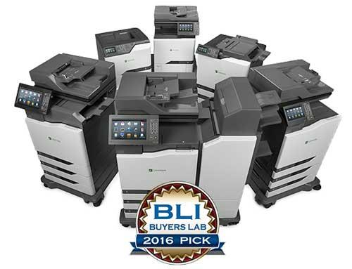 Lexmark gana los premios Summer Pick de Buyers Laboratory a la mejor impresión en color