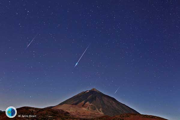 Perseidas 2106: Mobotix participa con sus cámaras Q25 y M15 en la observación y retransmisión de la lluvia de estrellas