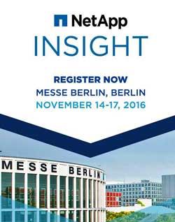 NetApp Insight se celebrará en Berlín por tercer año consecutivo