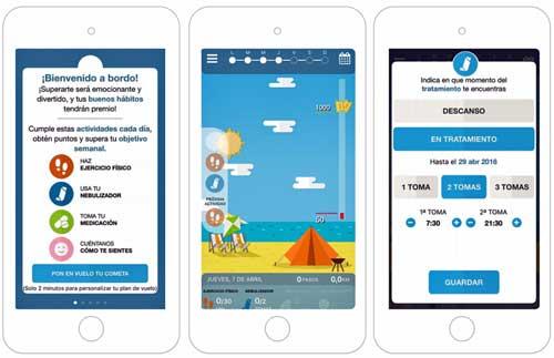 Air4Life es un excelente ejemplo de cómo la gamificación contribuye a mejorar los hábitos y el estado de salud de pacientes crónicos