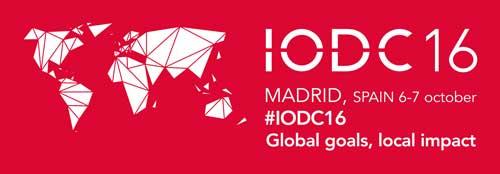 IODC16: La 4ª Conferencia sobre Datos Abiertos se celebrará en Madrid bajo el lema «Objetivos globales, impacto local»