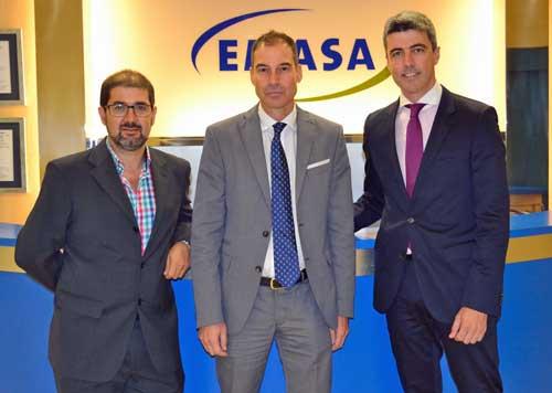 Equipo de EMASA responsable del proyecto