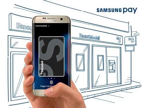Los clientes de Banco Sabadell ya pueden utilizar el servicio Samsung Pay