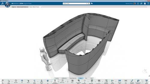 El equipo de XtreeE utilizó la plataforma cloud 3DEXPERIENCE de Dassault para el diseño 3D colaborativo
