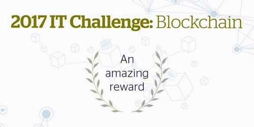 El tema del IT Challenge de 2017 es el blockchain, el registro de datos inviolable, inalterable y descentralizado