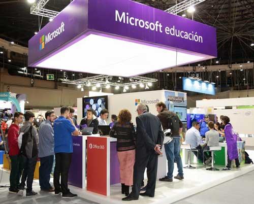 Stand de Microsoft en SIMO Educación