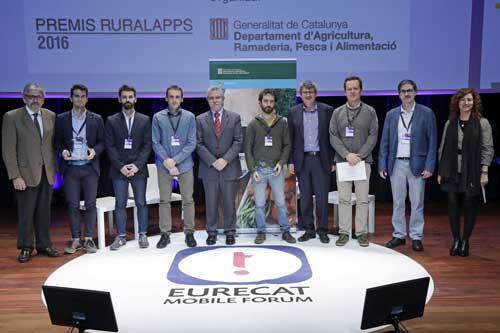En el marco del Eurecat Mobile Forum se han entregado los Premios Ruralapps a iRuralNavigator y Vacapp