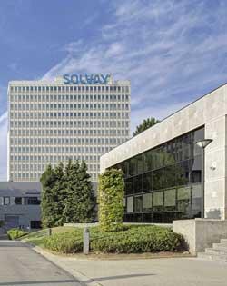 Sede de Solvay en Bruselas