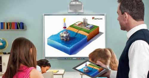 La plataforma Saber y Más nace con la filosofía de crear espacios virtuales de aprendizaje que favorezcan nuevos contextos de aprendizaje dentro del aula - Foto: Santillana