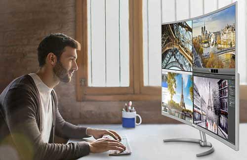 MMD presenta un nuevo monitor Philips Brilliance de 40 pulgadas curvo, con MultiView y 4k