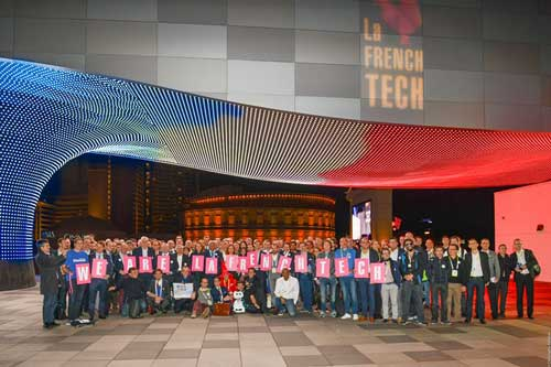 Participantes en la French Tech, la delegación de Francia en la CES