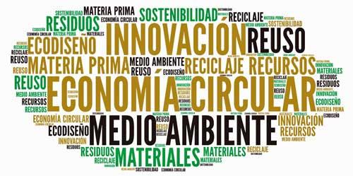 La economía circular promueve el prolongar la vida útil de los materiales y los recursos tanto como sea posible