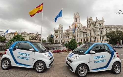 Un indicador del éxito de car2go son los 12,4 millones de km que ya ha recorrido  el parque de 500 Smart eléctricos que la firma tiene en Madrid