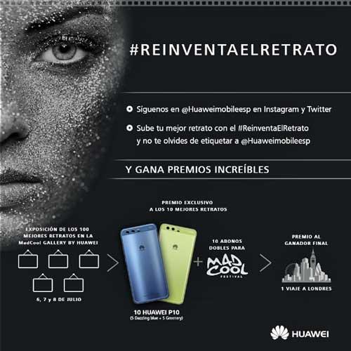 #ReinventaElRetrato: El concurso de Huawei convierte Instagram y Twitter en exposición fotográfica