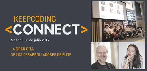 KeepCoding organiza Connect 2017, el mayor encuentro de desarrolladores de España