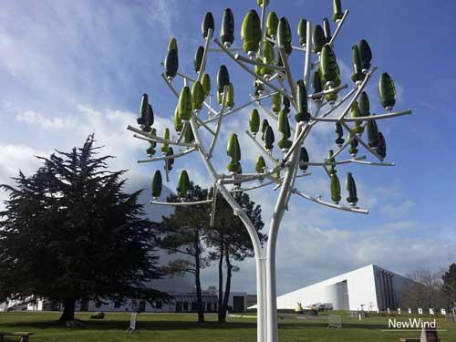 El Árbol de Viento, una innovadora fuente de energía eólica para las ciudades