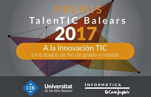 Los premios TalenTIC incentivan la innovación y reconocen el esfuerzo y la dedicación de los alumnos
