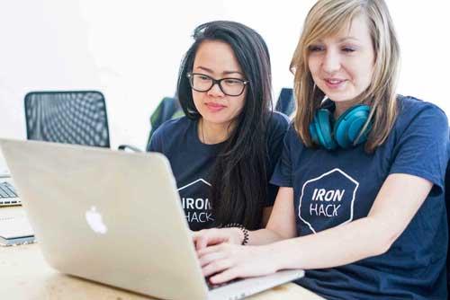Ironhack ofrece un nuevo modelo de formación a aquellos que quieran aprender programación de una forma práctica y rápida
