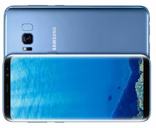 Ya se pueden comprar los Galaxy S8 y S8+ de Samsung en color azul coral