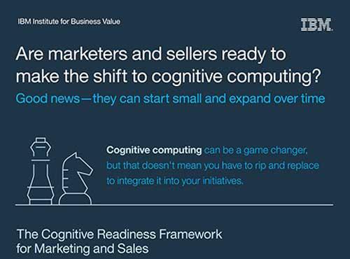 Los directores de marketing y ventas consideran que la computación cognitiva será una tecnología disruptiva en sus sectores