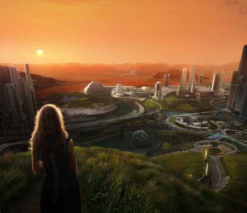 El proyecto va más allá de 2030, en un futuro donde haya familias y comunidades que vivan en Marte