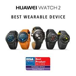 El Huawei Watch2, premio EISA Wearable Device