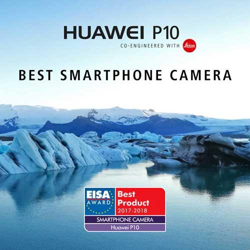 Huawei obtiene dos premios EISA para los P10 y Watch 2