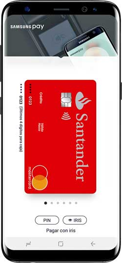 Samsung Pay extiende con el Santander su ecosistema de alianzas