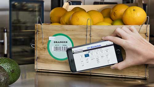 Blockchain: Industria alimentaria y distribución colaboran con IBM para mejorar la seguridad de la cadena de suministro de alimentos