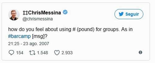 Twitter celebra el 10º aniversario del hashtag