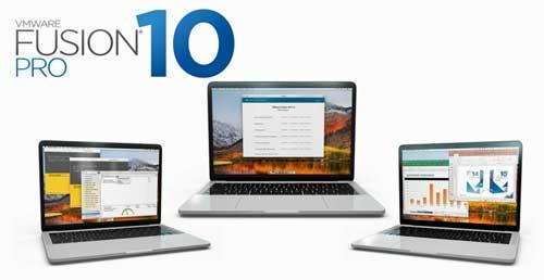 VMware Fusion 10 Pro unifica desarrollo y comprobación, permitiendo la creación de sistemas multifunción y la comprobación de sistemas operativos múltiples