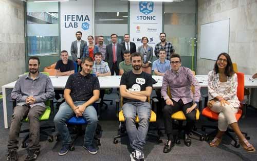 IFEMA y 5TONIC inauguran su laboratorio de prototipos 5G para los sectores turístico y ferial