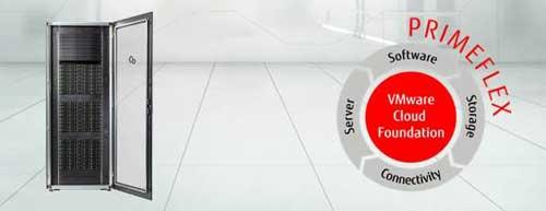PRIMEFLEX proporciona una solución preconfigurada y fácil de operar con todo lo necesario para una infraestructura hiperconvergente de SDDC