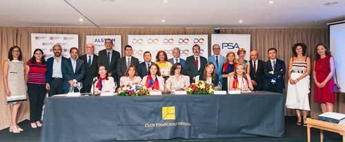 Participantes en la tribuna sobre los nuevos retos de la movilidad sostenible organizada por la asociación Mujeres Avenir