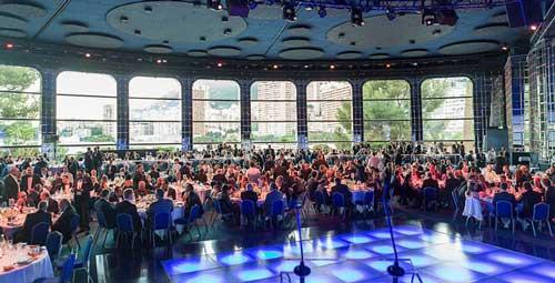 Gala de entrega de premios Datacloud Europe 2017 que se celebró en la Salle des Etoiles - Foto: BroadGroup